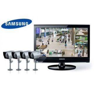 SAMSUNG Videoüberwachung Set 8 Kanal H.264 DVR im 22 Monitor 4