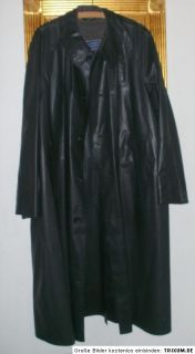 Regenmantel Vintage Latex Rubber Raincoat Herren Mantel 344