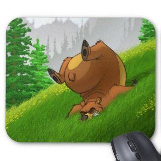 Stumbling Bear Mousepad