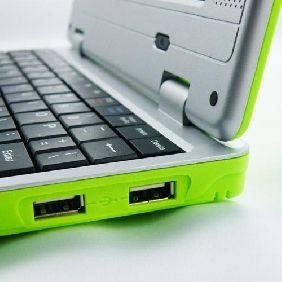 P4You Mini Netbook W LAN Laptop 7 Zoll @ Android @ Grün Green