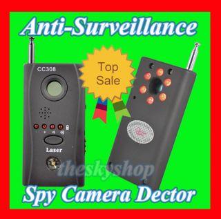 Wanze Minikamera Kamera FINDER Spy Bug Wifi Detektor