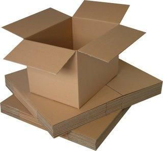 100 x 8x6x6 SMALL SINGLE WALL SHIPPING CARDBOARD BOXES