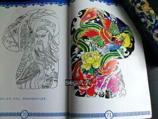 CHINA TATTOO A3 Blatt Skizze Tattoo Flash kunst Buch Magazine Nadeln