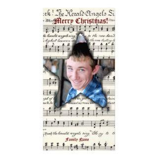 Music Western Star Photo Christmas Card Photo Cards