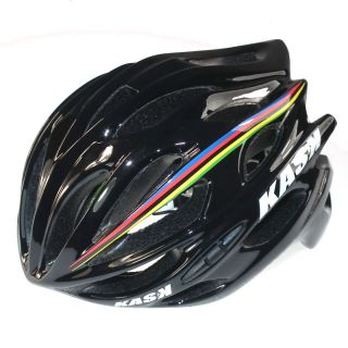Koo Bikes   KASK Mojito Helmet Cavendish World Champion Black MEDIUM