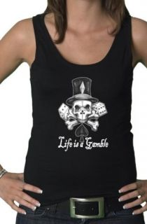 Top Girly Tattoo Ed Gothic Rock Emo Skull Bow S XL 92