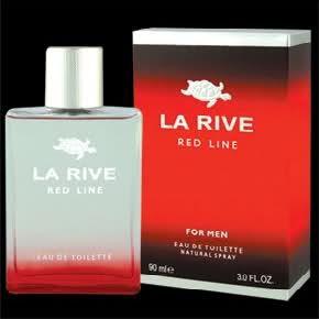 LA RIVE RED LINE Mens Eau de Toilette ~New & Sealed 3 OZ 90ML