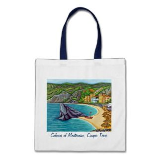 Colours of Monterosso Tote Bag
