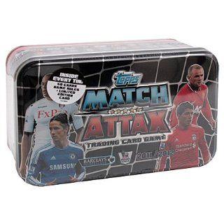 Match Attax   Premier League 2011/12   Tin Box   ENGLISCH