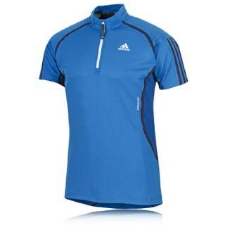 Zip Herren T Shirt Running Fitness TeeClima 365 Outdoor Neu