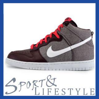 Nike Dunk High mahagony braun weiß pink 317982 607 Air Force alle