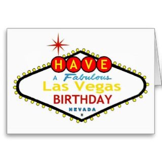 Las Vegas Balloons! Happy Birthday MOM Card