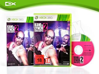 Xbox 360 Spiel KANE & LYNCH 2   Dog Days   Action Shooter USK18 3