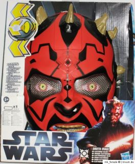 Hasbro Star Wars Darth Maul elektronischer Helm/Maske