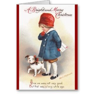 Ellen H. Clapsaddle: A Letter to Santa Greeting Cards