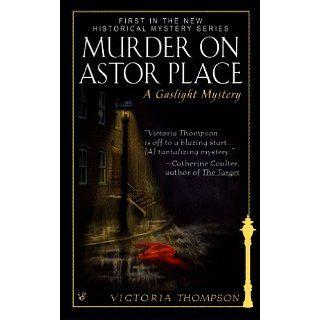 Murder on Astor Place: Gaslight Mystery Series, Book 1 eBook: Victoria