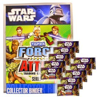 Star Wars Force Attax serie 2 Trading Card Game Starter Pack and 10