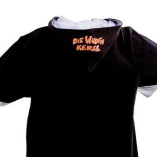 DIE WILDEN KERLE Langarmshirt   Shirt mit Kapuze Gr. 116 Gr. 140 Gr