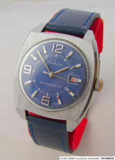 Ruhla GDR Uhr Herrenuhr vintage men gents wrist watch