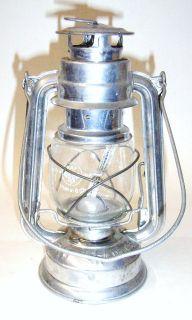 Alte Petroleumlampe Ollampe Tischlampe Kosmosbrenner Runddocht Kupfer