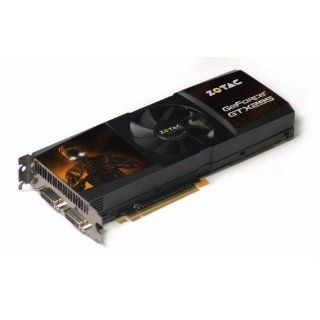nVidia GeForce Grafikkarte GTX 295 Computer & Zubehör