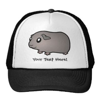 Cartoon Guinea Pig (silver) hats by SugarVsSpice