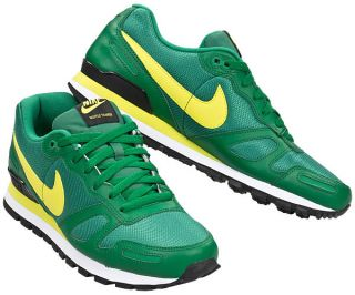 Größe Wählen] NIKE AIR WAFFLE TRAINER Schuhe NEU Grün Gelb