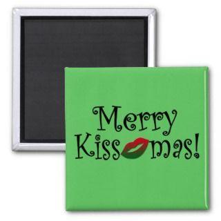 Merry Kissmas Magnet