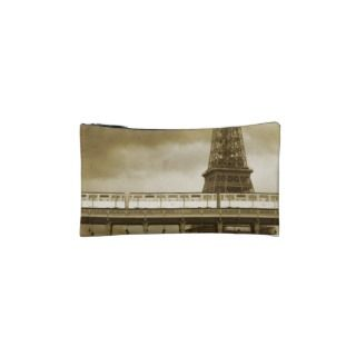 Eiffel Tower Vintage Cosmetics bag Makeup Bags