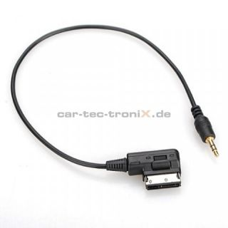 AUX Adapter Kabel Audi AMI MMI 3G High Low, VW MDI RNS 315 510, Skoda