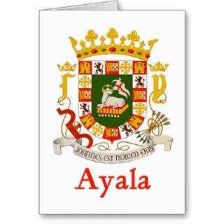 Ayala Puerto Rico Shield Card