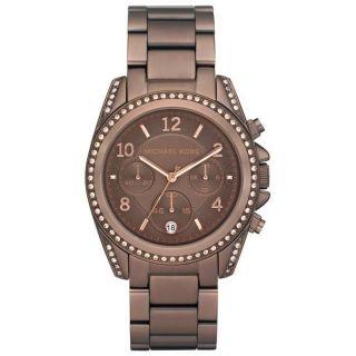 New Michael Kors MK5493 Blair Espresso Chocolate Dial Ladies Watch