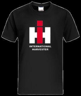 IHC HARVESTER Oldtimer Logo T Shirt Trecker Traktor 370