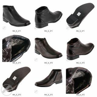 Gefüttert Business Herren Stiefelette Stiefel Schuhe NEU Winter BOOTS
