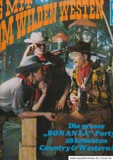LP WILL GLAHE Sing mit vom Wilden Westen 60er Will´s Akkordeon Band