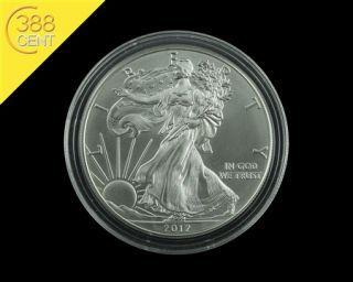 USA 1$ American Silver Eagle 1 Unze oz Silber 2012