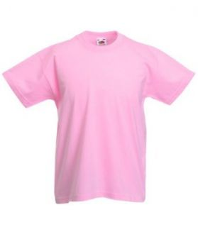 Fruite of the Loom Kinder T Shirt, vers. Farben Bekleidung