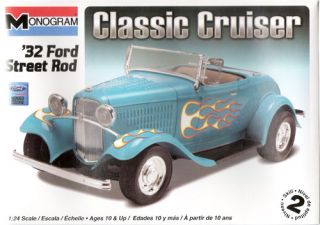 Revell USA 10882   Ford Street Rod   1932   124