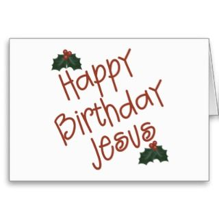 happy birthday this christmas with this christian christmas gift