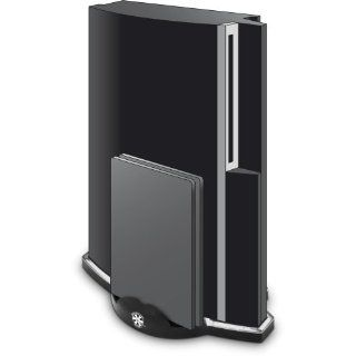 PlayStation 3   Vertical Stand  black  white light   Standfuß