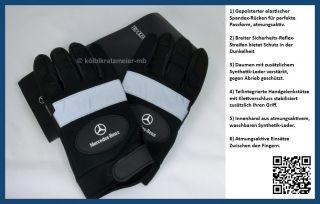 Original Mercedes Benz Arbeitshandschuhe / Handschuhe Unisex Gr. L