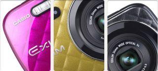 Casio Exilim EX N10 Digitalkamera 2,7 Zoll Pink Kamera