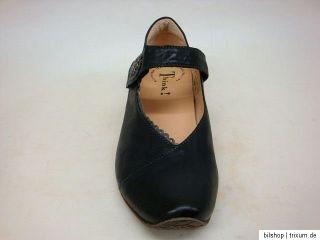 THINK Elegante Damen Schuhe CITY PUMS Klett AIDA schwarz NEU! uUVP