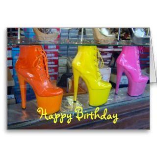 Happy Birthday (Hollywood Sign) Greeting Card