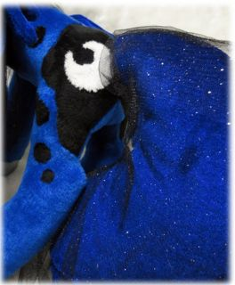 Handmade minky plush My Little Pony MLP FIM Princess Luna season 2 28