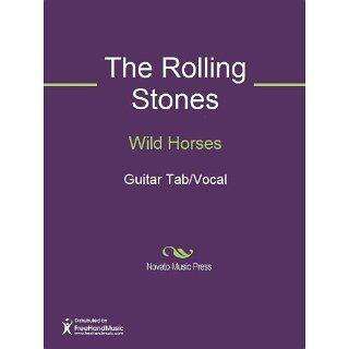 Wild Horses Sheet Music (Guitar Tab/Vocal) eBook Keith Richards, Mick