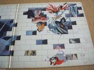 floyd the wall 1979 uk harvest double vinyl lp shdw 411 ex