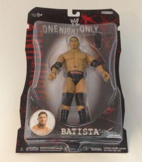 W401 WWE Wrestling Figur BATISTA One Night Only Serie PPV V2