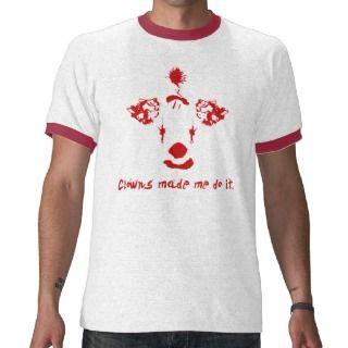 Sad Party Clown T Shirt