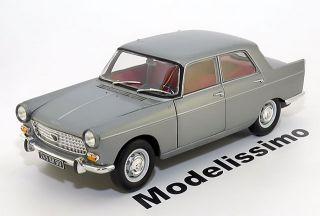 18 Norev Peugeot 404 Berline greymetallic